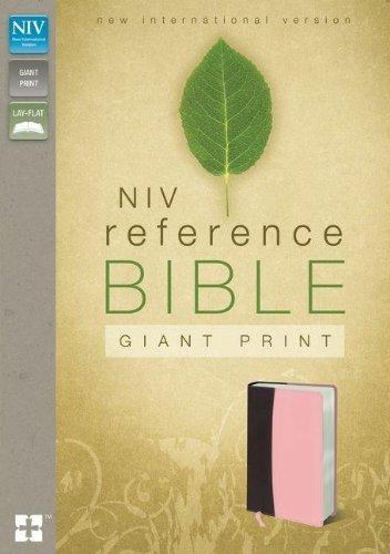 NIV Reference Bible, Giant Print, Zondervan