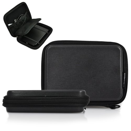 CaseCrown Brushed Granite (Black) Hard Cover Case for Garmin nuvi 1450 5-Inch Portable GPS Navigator