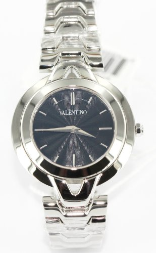 Valentino Watches Watch in Black & Silver Tone