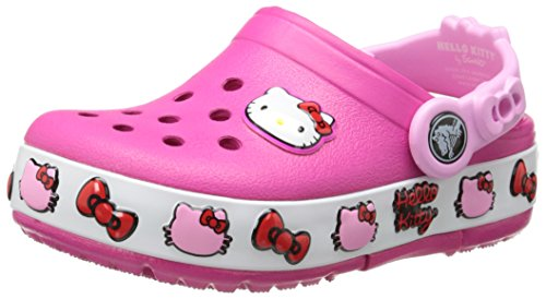 crocs 16297 Hello Kitty Light-Up Clog (Infant/Toddler/Little Kid),Candy Pink,2 M US Infant