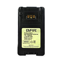BLI-KNB47L Li-Ion Battery - Rechargeable Ultra High Capacity (1900 mAh) - replacement for Kenwood KNB-47L Battery - replacement for Kenwood KNB-47L Battery