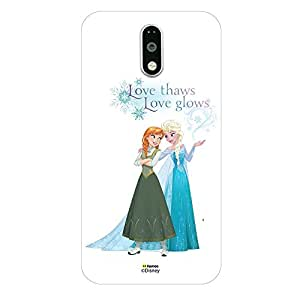Hamee Marvel Lenovo K4 Note Case Cover Disney Princess Frozen (Elsa Anna / Love Thaws)