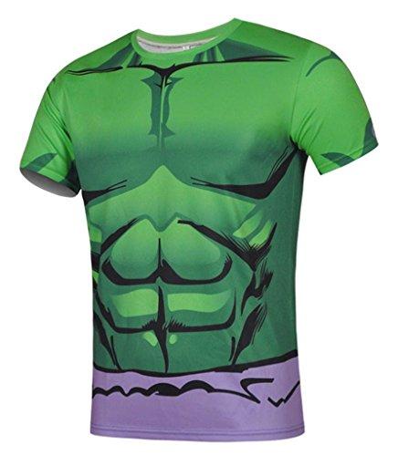 Fortuning's JDS La manica corta t-shirt per gli uomini Hulk
