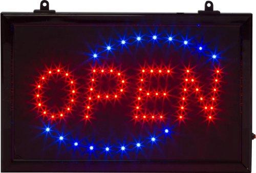 Light City Neon Led Open Sign - Square