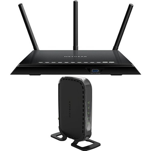 NETGEAR Smart Home Wi-Fi Router and Cable Modem Bundle image