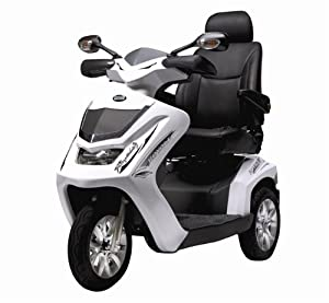Drive Medical Royale 3 Class 3 Deluxe Heavy Duty 3 Wheel Mobility Scooter - Red