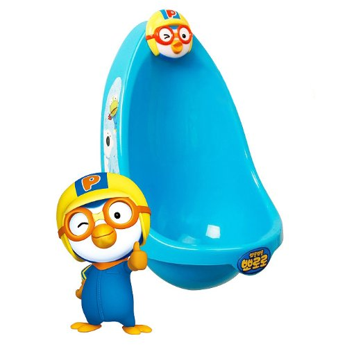 PORORO POTTY BLUE Boys Urinal Potty Traing Kit Pottyboy
