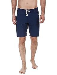 Zobello Mens Swim Shorts (41006B_Navy_Medium)