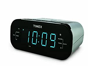223621 further Amazon  Timex T625T AutoSet TripleAlarm CD Clock Radio With additionally Amazon  TIMEX T123L SIMPLE SET ALARM CLOCK WITH LED DISPLAY BLUE in addition Timex T238S Nature Sounds Alarm Clock Radio Electronics furthermore Timex Nature Sound Clock Radio. on timex clock radio amazon