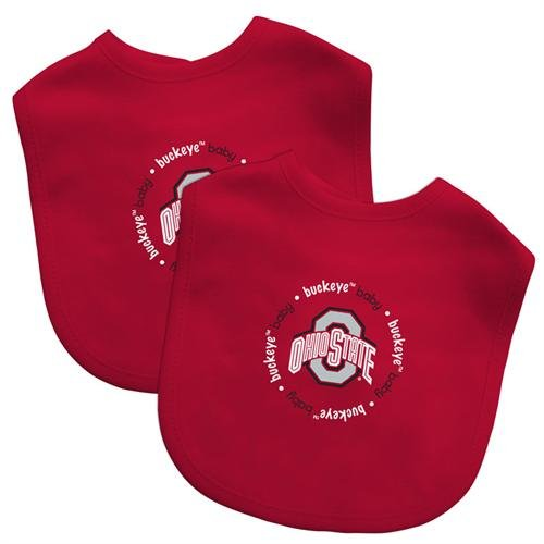 Baby Fanatic Team Color Bibs, Ohio State University, 2-Count front-970022