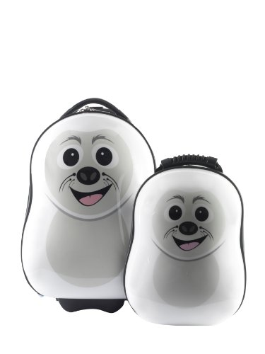 Cubbi the Seal trolley case and back pack