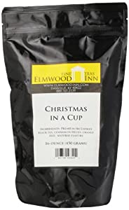 Elmwood Inn Fine Teas, Christmas in a Cup Cinnamon Black Tea, 16-Ounce Pouch