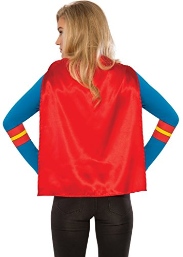 a4ba7665e26 Rubie s Costume Co Women s DC Superheroes Supergirl Sporty Tee ...