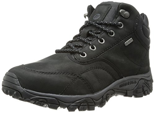 merrell-moab-rover-mid-waterproof-mens-lace-up-trekking-and-hiking-shoes-black-8-uk