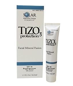 Tizo Solar Protection Formula, Facial Mineral Fusion SPF 40, 1.5 Ounce