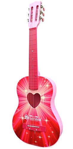 schoenhut-chitarra-acustica-starburst-giocattolo-colore-rosa