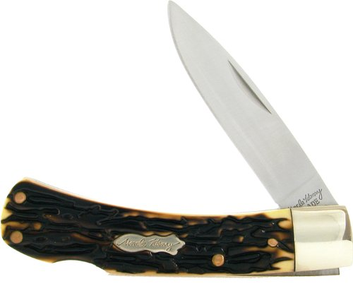 Schrade Uncle Henry 5UH Bruin Lockback Knife with Nylon Sheath