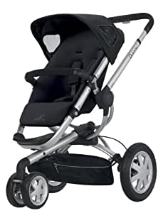 Quinny 2012 Buzz Stroller, Rocking Black (Discontinued by Manufacturer)