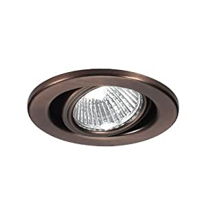 Wac Lighting Hr 837 Bk Recessed Low Voltage Trim Mini