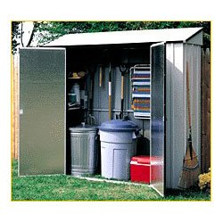 Arrow Storage Locker 7′x2′ Outdoor Storage Shed (CL72) Category: Arrow Foundation Kits and Accessories
