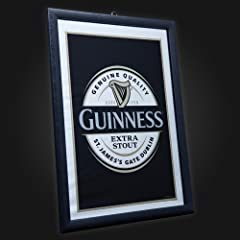 Guinness Label Mirror
