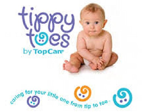 Tippy Toes Disposable Baby Swimpants Small 12 in Each Pack X 3 Packs = 36 Swim Pants - 1