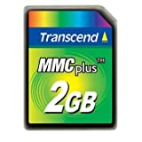 Transcend 2 GB MMCplus Flash Memory Card TS2GMMC4