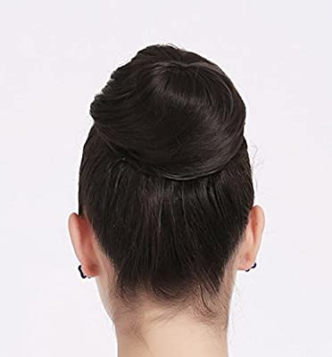 Onedor Synthetic Hair Bun Extension Donut Chignon Hairpiece Wig