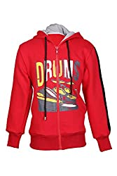 Cool Quotient Boy's Sweatshirts [CQBW15I233_Red_13-14 Years]