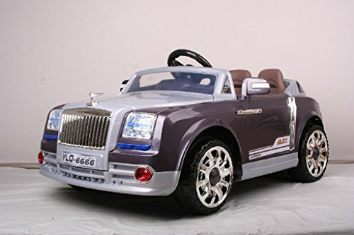 Rolls Royce Style Kids Ride on Battery Powered Electric Car with Remote Control (Rolls Royce For Kids compare prices)