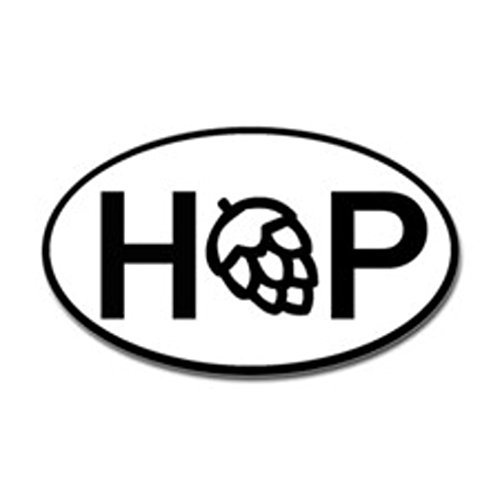 Hop Beer Fridge Decal Euro Circle | Cooler Fridge Cars Trucks Vans Walls Toolbox Laptop | 5 X 3 In Decal | KCD266 (Beer Cooler Sticker compare prices)
