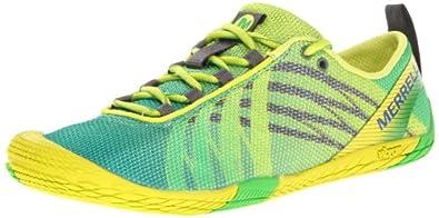 Merrell Women's Barefoot Vapor Glove Running Shoe,Green,9.5 M US