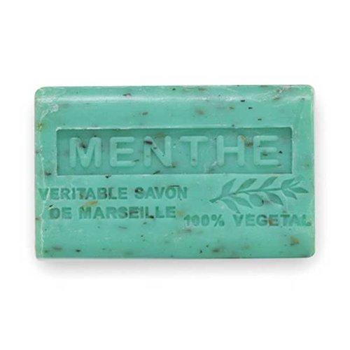 (南仏産マルセイユソープ)SAVON de Marseille ミントの香り(SP051)(125g)