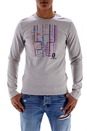 john-galliano-sweat-shirt-da-uomo-beige-taglia-s