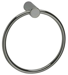 :USE Bollard Towel Ring, Satin Nickel