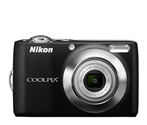 Nikon COOLPIX L24 14 MP Digital Camera with 3.6x NIKKOR Optical Zoom Lens and 3-Inch LCD (Black)