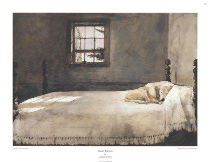 Master Bedroom Art Poster Print by Andrew Wyeth 29x22B0000VZWAM