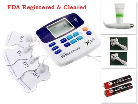 XFT-320A Electrical Massager with 4 pads and Acupuncture Pen