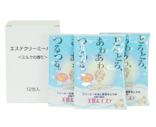 エステクリーミーバス ミルクの香り 12個組