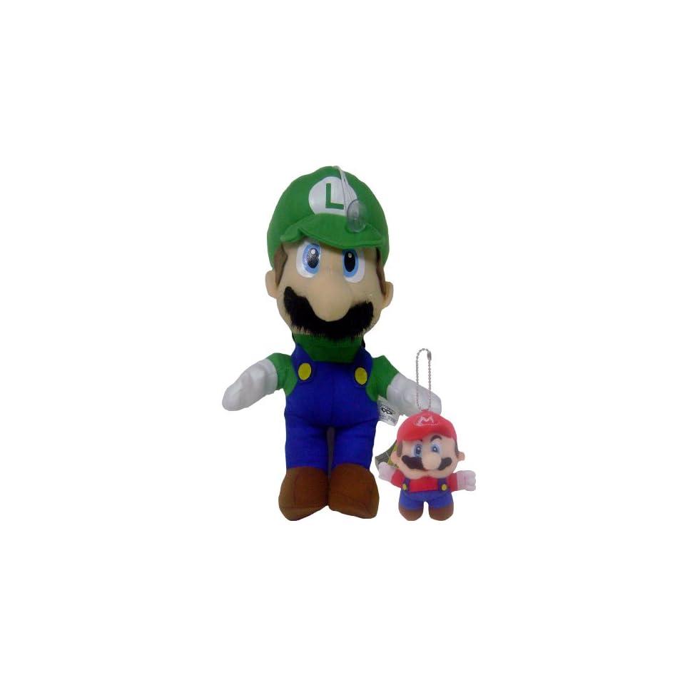 New Super Mario Bros. Liugi Plush Doll Bonus Keychain