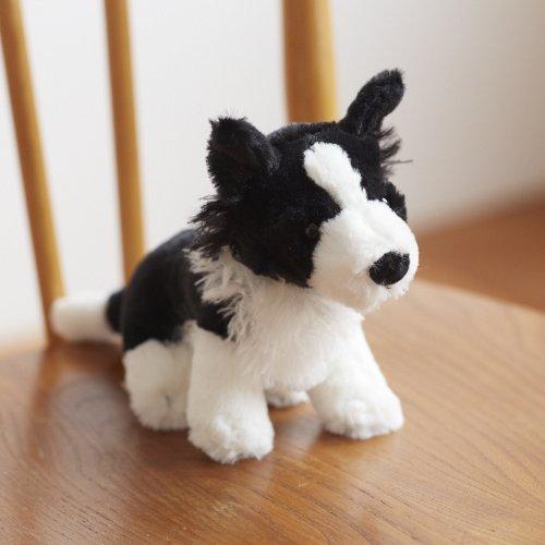 (ミンクプラッシュ)ボーダーコリー 犬のぬいぐるみ リトルメイティ 18cm (S7299)