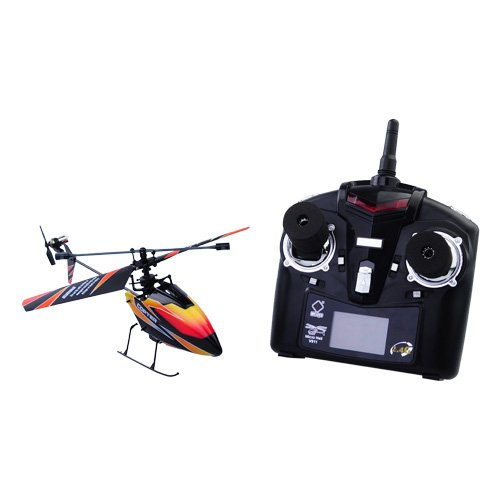 Gangnam Shop V911 4 Channels 2.4Hgz 25-35M Distance Mini Helicopter Remote Control Usb Rechargeable