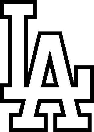los angeles dodgers coloring pages | La Dodgers Hat Coloring Coloring Pages