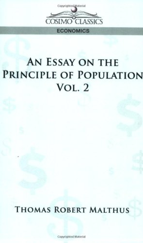 an essay on the principle of population amazon
