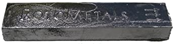 Whole Lead Ingot Pure 99.9% 4-5lbs. By Rotometals