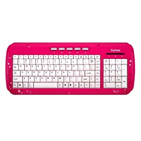 Saitek Expressions Keyboard (Pink Butterfly)