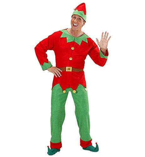 Widmann - Costume da Elfo Uomo, Taglia XL