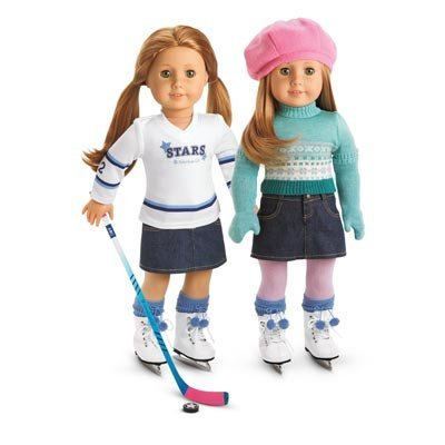 American Girl Mia`s 2-in-1 Skate Outfit for an 18