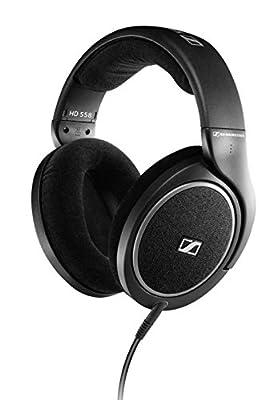 Sennheiser HD558 Around the Ear Audiophile Stereo Headphones DJ MP3 iPhone/iPod