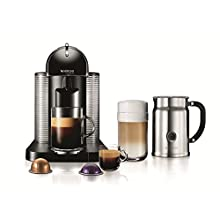 Nespresso VertuoLine Coffee and Espresso Maker with Aeroccino Plus Milk Froth...